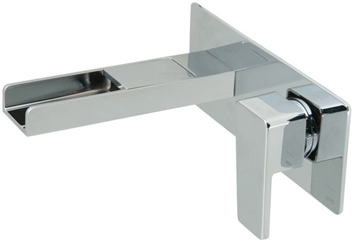 Larger image of Vado Synergie Wall Mounted Waterfall Basin Tap (Progressive, Chrome).