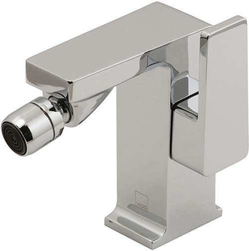 Larger image of Vado Synergie Bidet Tap With Pop Up Waste (Chrome).