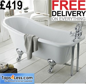 taps4less.com single ended bath