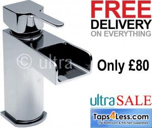 taps4less.com ultra fall basin tap