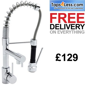 taps4less.com - kitchen rinser tap