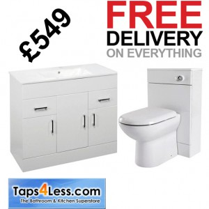 www.taps4less.com white furniture