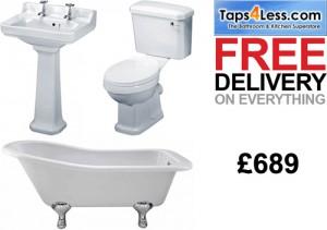 taps4less.com trad bathroom suites