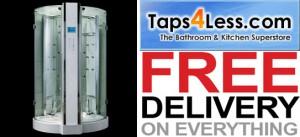 taps4less - steam shower enclosure