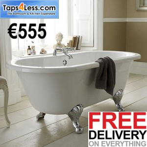 taps4less.ie double ended bath